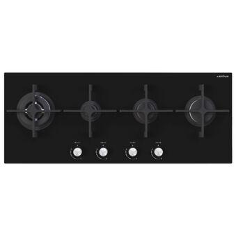 Table verre gaz panoramique 100 cm AIRLUX - AV145HBK