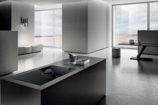 Elica - Nikolatesla Switch - Hotte plan de travail Elica Nikolatesla Switch 83 cm coloris Verre noir